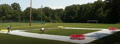 Kiddie Pool Kickball (look at YouTube)