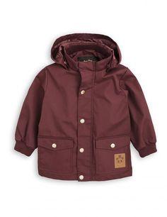 Mini Rodini Burgandy Jacket