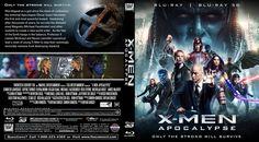 X-Men Apocalypse Scanned Blu-ray Cover X Men, Apocalypse, Cover Art, 2d, Barbie, Printables, Books, Movie Posters, Ideas