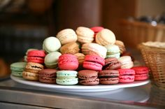 Macaroons, simple, beautiful and taste divine