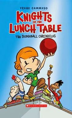 Purefoy Library Blog: Good Book: Knights of the Lunch Table Series -  a cute graphic novel series