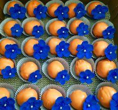 Dutch theme Anniversary Cake Bites