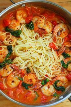 KD - I printed this. Shrimp Pasta with Garlic Basil Tomato Sauce KD - I printed this. Shrimp Pasta with Garlic Basil Tomato Sauce Fish Recipes, Seafood Recipes, Chicken Recipes, Cooking Recipes, Healthy Recipes, Shrimp Pasta Recipes, Healthy Food, Recipies, Healthy Meals