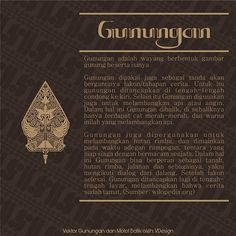 Gunugan . . . . . . . . #wayang #motif #batik #design #illustration #inspiration #infographic #indonesia #java