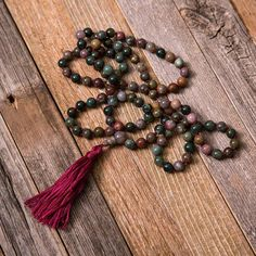 Handmade malas are available at our studio.