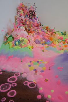 Flabbergastingly awesome sugar & candy installations by Pip & Pop  (Nicole Andrijevic & Tanya Schultz)