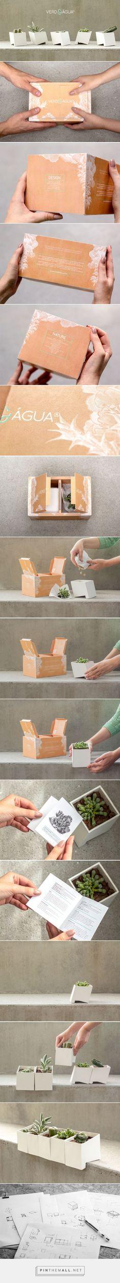 VERD&ÁGUA #gardening kit #packaging designed by Filipa Ferreira - http://www.packagingoftheworld.com/2015/07/verd.html