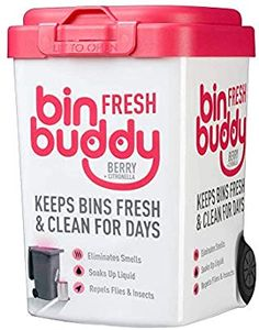 Bin Buddy Fresh Berry Blast 450g: Amazon.co.uk: Kitchen & Home Fly Repellant, Insect Repellent, Berry, Yankee Candle Car, Bin Bag, Citronella, Fragrance Oil, Cleaning Hacks, Indoor Outdoor