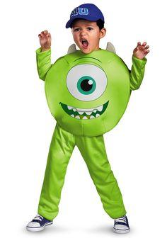#MonstersUniversity Toddler / Kids Mike #Costume