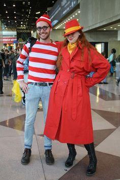 Halloween costume ideas Waldo and Carmen San Diego