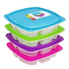 Happy Lunchboxes - 4-compartment Leak Proof Bento Lunch Box Containers for Kids and Adults - Set of 4 Pure Art http://www.amazon.com/dp/B00O7RVZE2/ref=cm_sw_r_pi_dp_Pdmzub1DW4Z32
