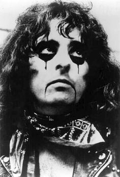 Alice Cooper, early 70s Warner Bros publicity photo by Elliot Holceker.