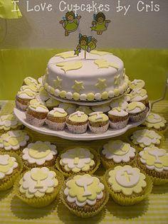 I love Cupcakes: Mesa dulce para Comunion