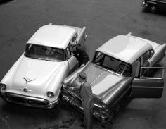 Car Accident New York City, 1963