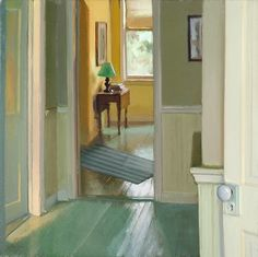 ◇ Artful Interiors ◇ paintings of beautiful rooms - Lea Wight