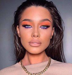 Makeup Eye Looks, Creative Makeup Looks, Eye Makeup Art, Glam Makeup, Skin Makeup, Glamour Makeup Looks, Blue Eyeshadow Makeup, Nyx Eyeliner, Beauty Makeup