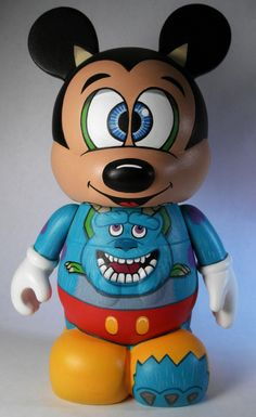 Incognito 9 inch Mikey Mouse Custom Vinylmation by Brian Shapiro.