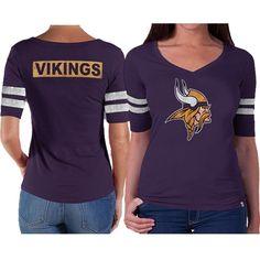 '47 Brand Green Bay Packers Women's Flanker V-Neck T-Shirt - Green