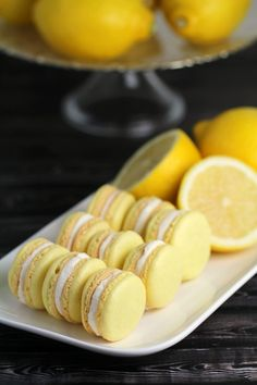 Lemon Macarons This Lemon Macaron Recipe is a masterpiece – and with it you too can make French Meringues worthy of any bakery! I'm sharing all the tips and tricks you need to make gorgeous lemon cookies successfully. Lemon Macaron Recipe, Lemon Macarons, Pistachio Macarons, French Macaroon Recipes, French Macaroons, Macaroons Flavors, Oreo Filling, Galletas Cookies, Macaron Cookies