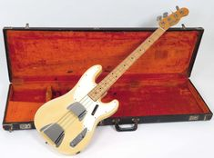 Fender Telecaster Bass 1971 Blonde with Case | Nationwide Guitars | Reverb Telecaster Bass, Cool Electric Guitars, My Collection, The Originals, Cool Stuff