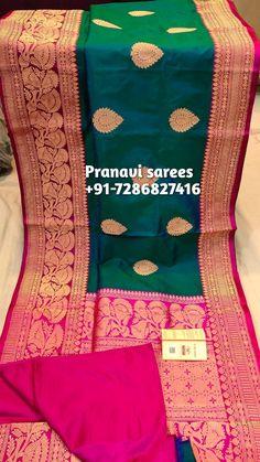 Long Gown Dress, Saree Dress, Sari, Wedding Saree Blouse Designs, Fancy Blouse Designs, Couple Wedding Dress, Wedding Outfits, Banaras Sarees, Silk Sarees