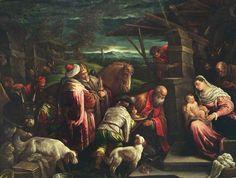 """Jacopo Bassano """"Adoration of the Magi"""""""