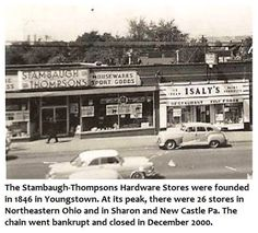 Stambaugh-Thompsons Marion Ohio, Youngstown Ohio, Local History, Time Capsule, Old Pictures, Newcastle, Historical Photos, Wonderful Places, Places To See