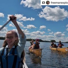 "#Repost from @freemanexplore:  ""It has been over 2 months since our #wildernessyear to #savetheBWCA ended. Amy and I have been busy giving presentations screening #BearWitness working on a book about A Year in the Wilderness that @milkweed_books will publish and adjusting to life outside the Wilderness. It has been hard not being surrounding by silence clean air and water we can drink right out of the lake.  I miss the Wilderness and long to return but I understand that right now Amy and I…"