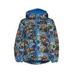 Minymo ECHO Softshell jacket BLUE - jongenskleding - Eileen4Kids