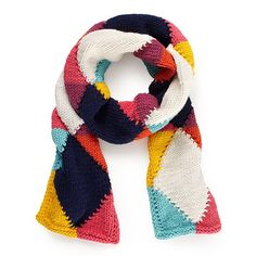 kate spade hand in hand argyle scarf