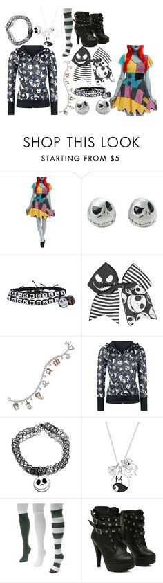 """The Nightmare Before Christmas"" by marythedemon ❤ liked on Polyvore featuring The Bradford Exchange, Disney and Muk Luks"