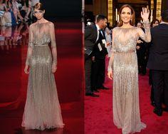 angelina jolie - Elie Saab: Lo unico que puedo pensar es que Angelina Jolie es de esas pocas personas que no importa que se ponga, lucira perfecta!