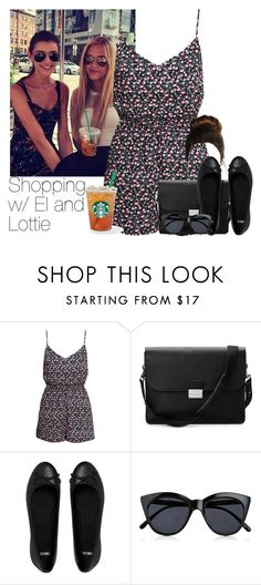 """Shopping with Eleanor (Sister-in-law) and Lottie (Sister)"" by haroldmadness ❤ liked on Polyvore featuring H&M, Aspinal of London, ASOS, Le Specs, 1d, starbucks, eleanorcalder, shopping and LottieTomlinson"