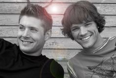 Jensen Ackles and Jared Padalecki. i just love them so much. i'm pinning this to nearly every board i have..