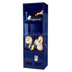 Navy Blue Volleyball Locker