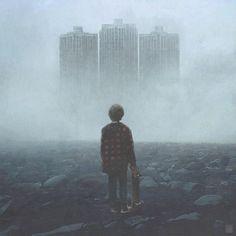 De vreemde post-apocalyptische wereld van Yuri Shwedoff   The Creators Project