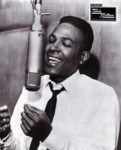 Photo of Marvin GAYE; Marvin Gaye in the Motown recording studio Tammi Terrell, Foreign Celebrities, Best R&b, Smokey Robinson, Concept Album, Luther Vandross, Toni Braxton, Lionel Richie, Christmas Albums