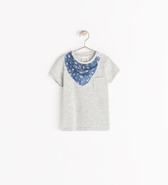 Image 1 of BANDANA PRINT T-SHIRT £5.99