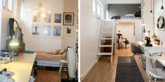 STOR FORANDRING: Møblene er beholdt og rommet er det samme - forandringen på rommet er likevel stor. Foto: Niklas Hart.