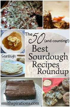 Looking for new ways to enjoy sourdough? Look no farther! The 50 (and counting!) Best Sourdough Recipes Roundup: