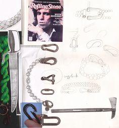 Aguila Dorada: Sketchbook page
