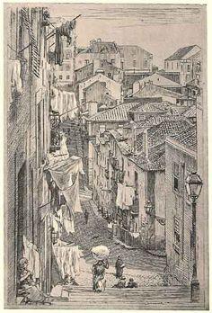 |Rua Marechal Saldanha   Portugal velha   drawing