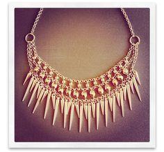 Bijou Brigitte Instagram favourites - statement necklace in rosegold
