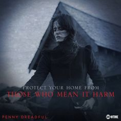 Protect your home Penny Dreadful Season 3, Penny Dreadful Tv Series, Penny Dreadfull, Vanessa Ives, Showtime Series, Morning Mood, Sunday Morning, Are You Not Entertained, Black Magic Woman