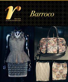 O barroco é aposta forte na coleção Outono Inverno da Lojas Renner