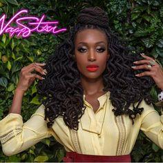 Curls on FLEEK  - - hair: @nappstar_nyc @nappstarrocks :@islandboiphotography : @grisellemua  stylist: @dapperafrika #locs #naturalhair