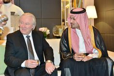 Graham Cooke, Chairman of World Luxury Group and HH Prince Mohammad bin Abdulrahman bin Abdullah Al Faisal Graham Cooke, Riyadh, Prince, Group, Luxury, American