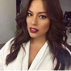 Ashley graham makeup