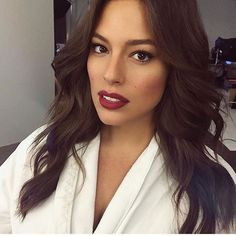 Ashley graham makeup