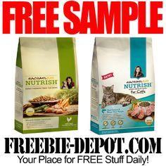 FREE SAMPLE – Rachel Ray Nutrish Pet Food – FREE Cat Food Sample – FREE Dog Food Sample  #freesample